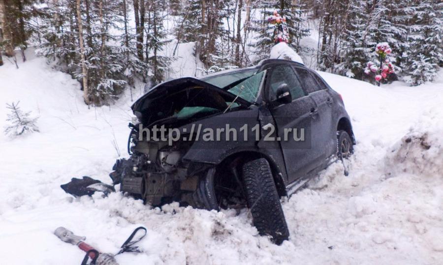 Семья счетырехлетнем ребенком погибла в«лобовом» ДТП натрассе Архангельск