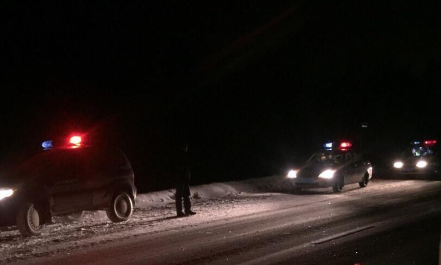 Натрассе Архангельск— Северодвинск при столкновении грузового автомобиля савтобусом погибла женщина